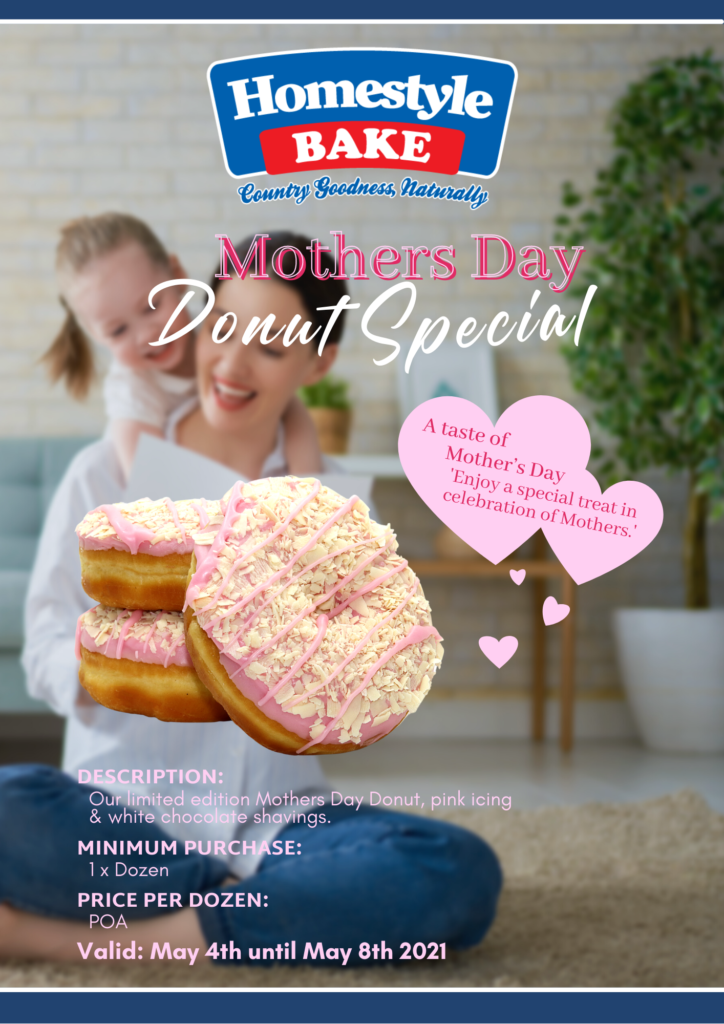 Mother's Day Donut Specials 2021