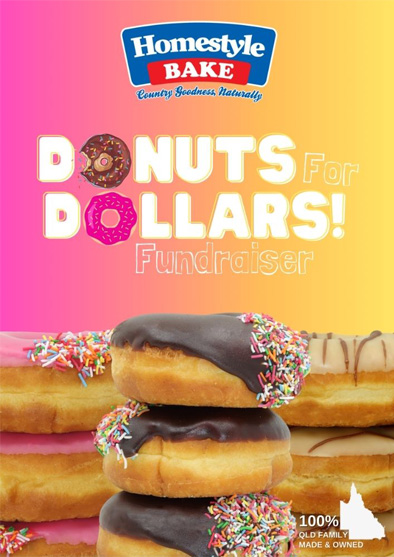 Donut for Dollars Fundraising Drive