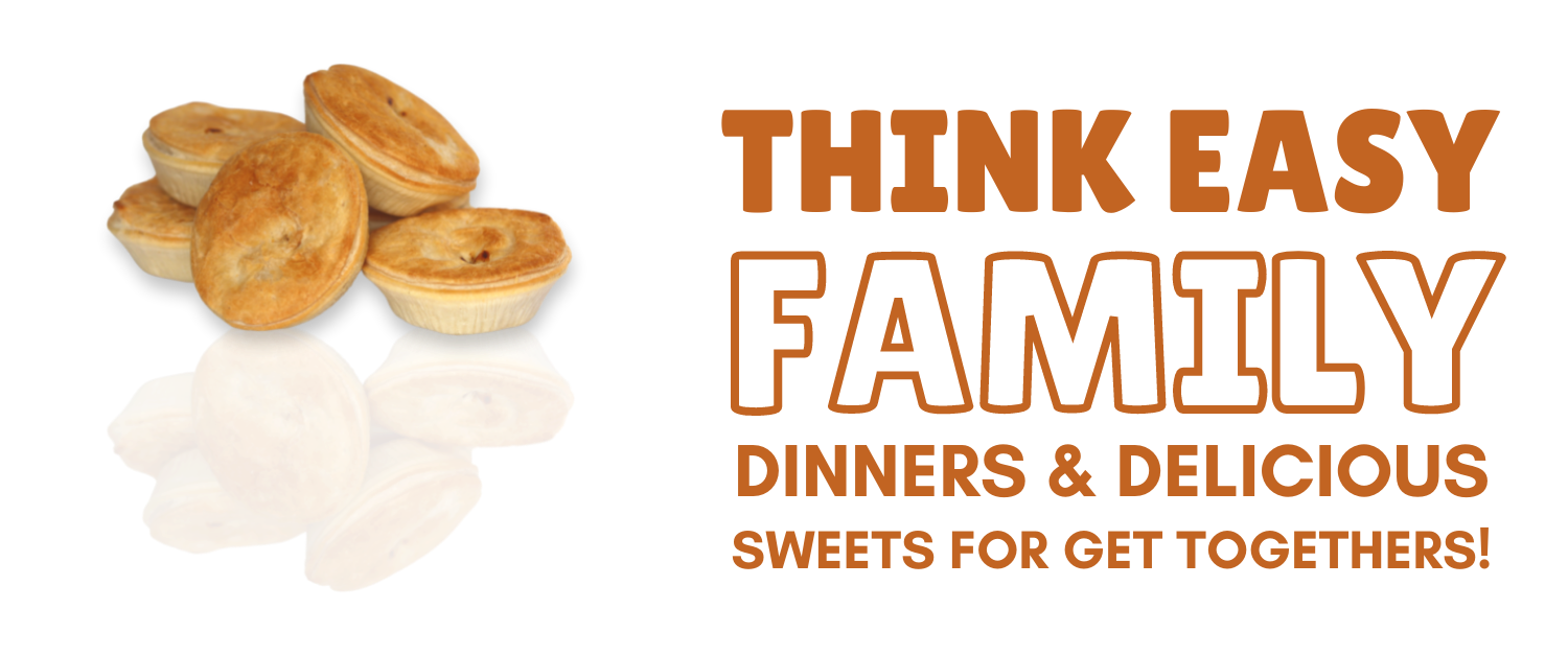 Think easy family dinners and delicious sweets for get togethers.
