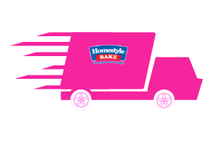 Homestyle Bake Delivery Truck Pink