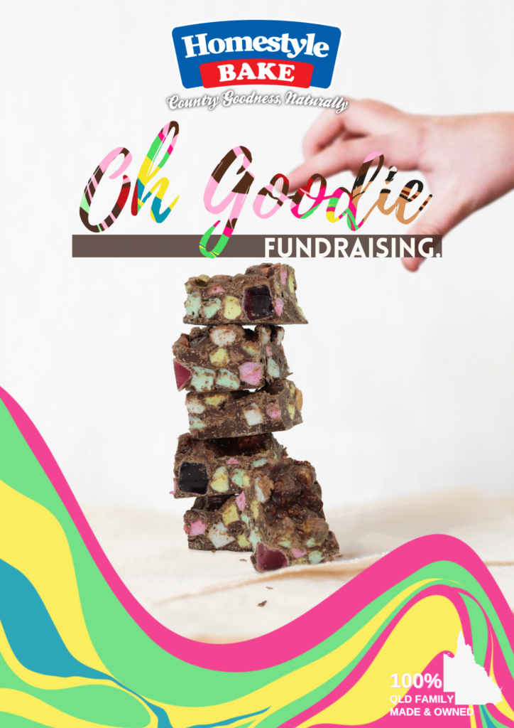 Homestyle Bake Oh Goodie Fundraising Front Page Flyer